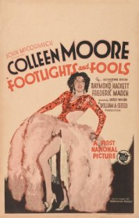 Footlights and Fools poster