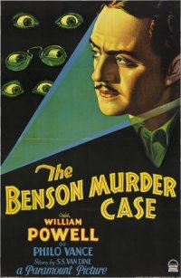 The Benson Murder Case poster