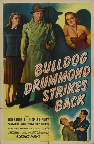 Bulldog Drummond Strikes Back Poster