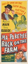 Ma and Pa Kettle Back on the Farm Poster