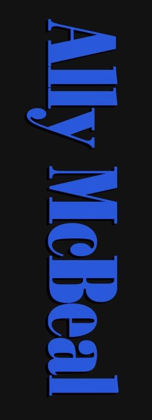 Ally McBeal 800x2200
