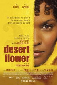 Wüstenblume poster