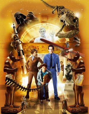 Night at the Museum: Battle of the Smithsonian Key art