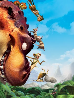 Ice Age: Dawn of the Dinosaurs Key art