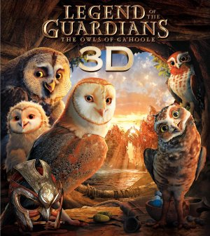 Legend of the Guardians: The Owls of Ga'Hoole Blu-ray cover