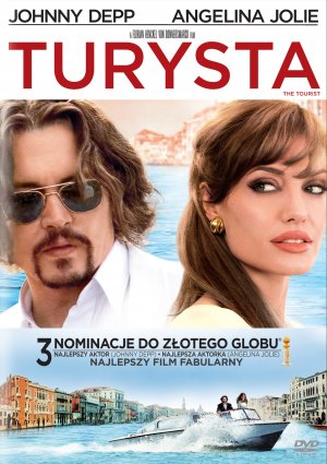 The Tourist Dvd cover