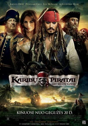 Pirates of the Caribbean: On Stranger Tides 700x1000