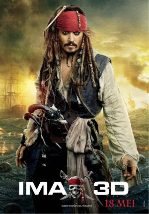 Pirates of the Caribbean: On Stranger Tides 1299x1866