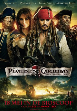 Pirates of the Caribbean: On Stranger Tides 2480x3543