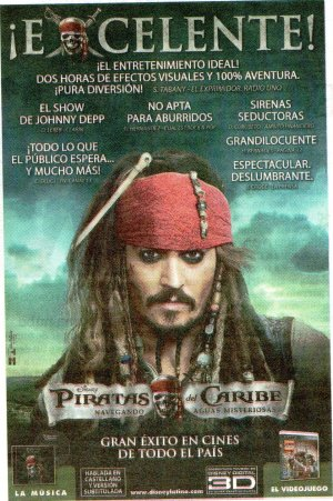 Pirates of the Caribbean: On Stranger Tides 1139x1714