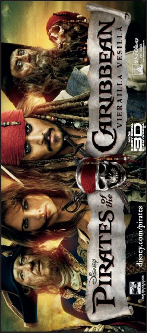 Pirates of the Caribbean: On Stranger Tides 427x966