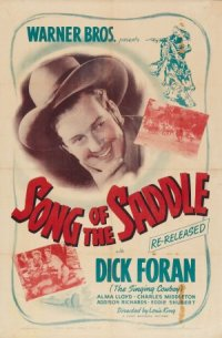 Song of the Saddle poster