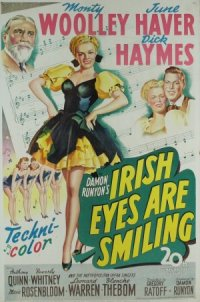 Irish Eyes Are Smiling poster
