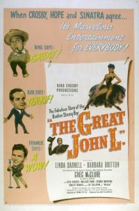 The Great John L. poster