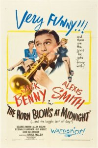 The Horn Blows at Midnight poster