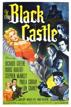 The Black Castle Poster