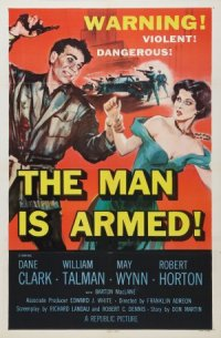 The Man Is Armed poster