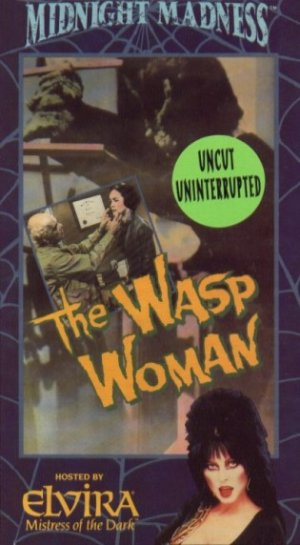 The Wasp Woman Vhs cover