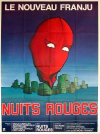 Nuits rouges poster
