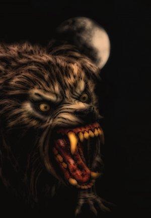 Un hombre lobo americano en Londres 1636x2364
