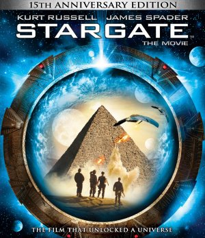 Stargate Blu-ray cover