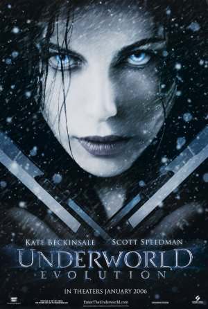 Underworld: Evolution Advance poster