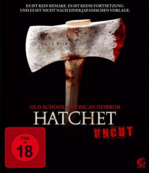 Hatchet Blu-ray cover