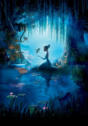 The Princess and the Frog 3500x5000