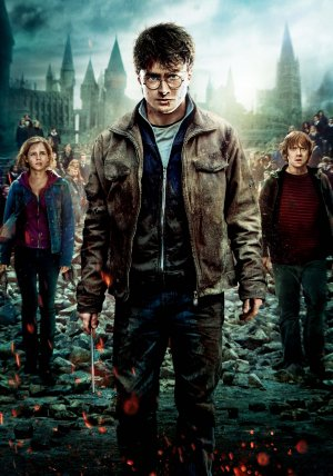 Harry Potter and the Deathly Hallows: Part II Key art