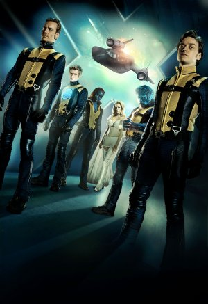 X-Men: First Class Key art