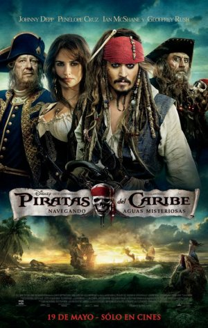 Pirates of the Caribbean: On Stranger Tides 459x720