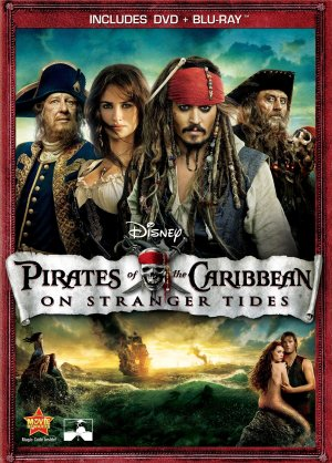 Pirates of the Caribbean: On Stranger Tides Dvd cover