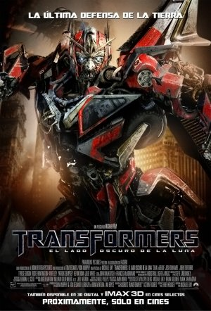 Transformers: Dark of the Moon 739x1089