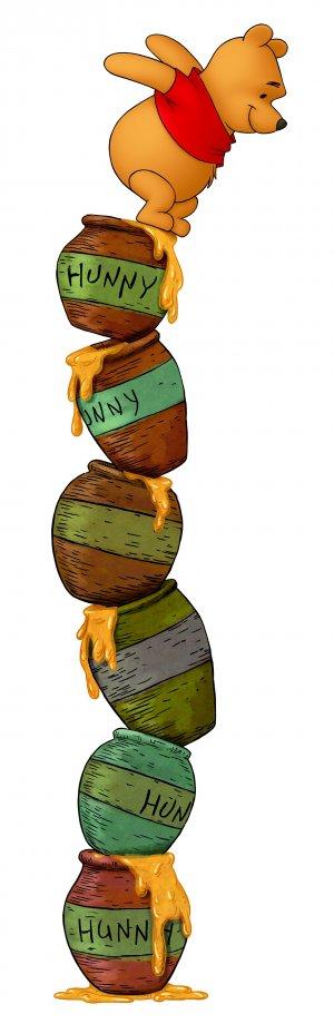 Winnie Puuh 1630x5000