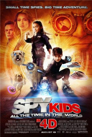 Spy Kids 4: All the Time in the World 1383x2048