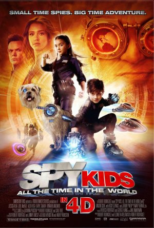Spy Kids 4: All the Time in the World 1380x2048