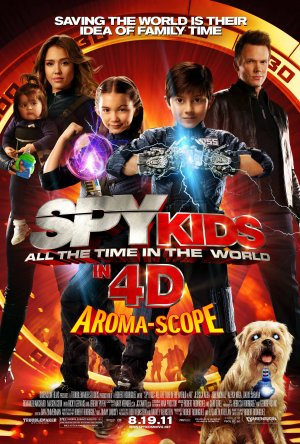 Spy Kids 4: All the Time in the World 3375x5000