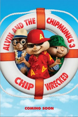 Alvin and the Chipmunks: Chipwrecked 567x849