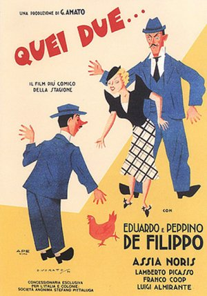 Quei due Theatrical poster