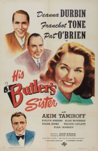 His Butler's Sister poster