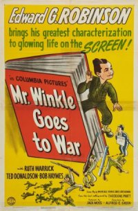 Mr. Winkle Goes to War poster