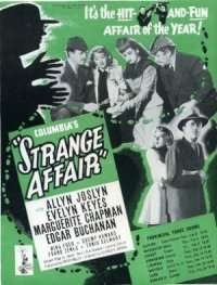 Strange Affair poster