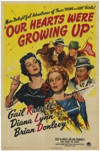 Our Hearts Were Growing Up poster
