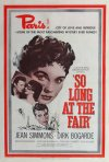 So Long at the Fair Poster