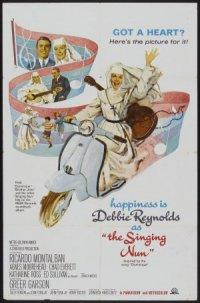 The Singing Nun poster