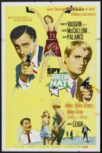 The Spy in the Green Hat poster