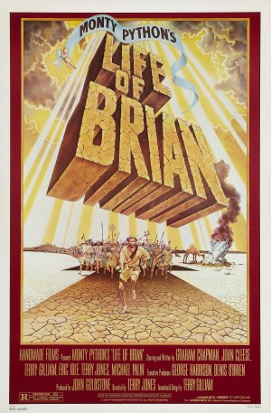 Life Of Brian Theatrical poster