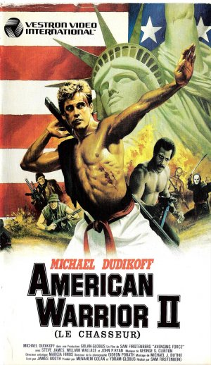 American Ninja 2: The Confrontation Vhs cover