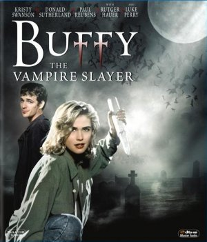 Buffy The Vampire Slayer Blu-ray cover