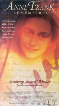 Anne Frank Remembered poster
